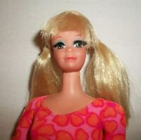 NEW NUDE BARBIE BLONDE BOB NO BANGS ROOTED EYELASHES MATTEL DOLL FOR OOAK