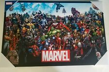 "MARVEL Lineup 18""x28"" Gallery Wrapped Art Canvas"