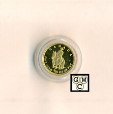 2010 Prf 1/25oz Fine Gold 'Royal Canadian Mounted Police' 50ct Coin(12665)(OOAK)