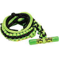 Proline 2021 20' T-Bar Surf Rope w/ Pe Air (Green) Wakesurf Rope & Handle Combo