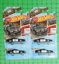 2020 Hot Wheels - Walmart Police Series - Lot of 4 - '85 Chevrolet Camaro - CHP