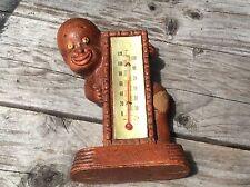 1949 Black Americana Thermometer