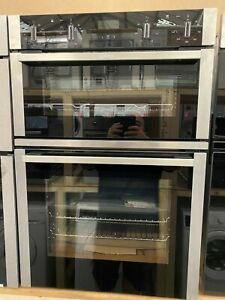 NEFF N50 U1ACI5HN0B Built In Electric Double Oven - Stainless Steel - RRP £1049