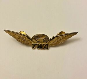 Trans World Airlines ~ TWA  ~ Flight Attendant Wings   ~   3 ""