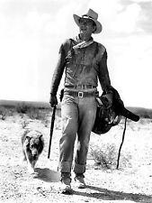 ART PRINT POSTER VINTAGE PHOTO MOVIE FILM STAR Duke John Wayne DOG nofl0453