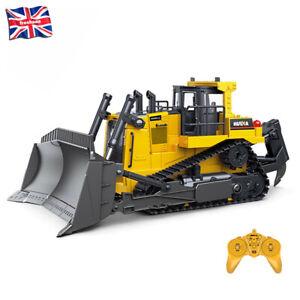 1:16 RC Truck Heavy Bulldozer Caterpillar Alloy Tractor Model Engineering Car