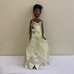 Tiana Princess And The Frog Disney African American Mattel Doll Figure