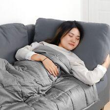 Used Great Deep Sleep 12lbs Weighted Blanket Twin Size Heavy Blanket Twin Size