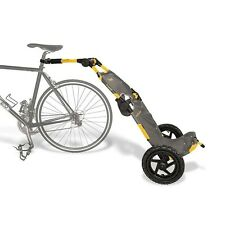 Burley Travoy Urban Trailer System-Yellow-Bicycle Trailer-Bike Cargo Trailer