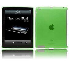 Verde suave Gel funda rígida Inteligente Compatible Con Cubierta Inteligente Para Apple iPad 2/3