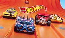 Hot Wheels Edible Party Cake Image Topper Frosting Icing Sheet
