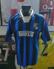 Maillot jersey shirt maglia camiseta inter 1995 1996 96/97 Ronaldo Pirelli L