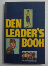Vintage 1980 Den Leader's Book Cub Scout Boy Scouts America BSA