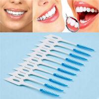 200pcs/lot Interdental Brush Dental Floss Teeth Oral Clean Double Head Toothpick