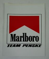 Marlboro Team Penske Logo Decal Cart IndyCar Racing