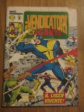 original italian ed 1981 I VENDICATORI ( AVENGERS ) gigante # 12 Marvel Corno