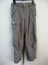 The North Face Freedom Ski Snowboard Grey Pants Mens Medium Reg. Insulated $160