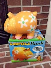 Garfield Piggy Bank 1997