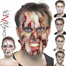 Zombie Latex Face Make Up Set Halloween Horror Special FX Effects Fancy Dress