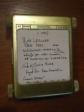 Ancien boitier pour annotations de pilote d'aviation aéronautique