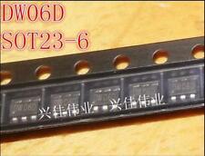 100pcs new dw06d patch SOT23 - 6 chip IC
