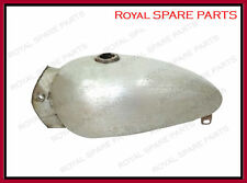 Royal Enfield Trials Raw Steel Petrol Tank