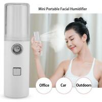 USB Portable Moisturizing Nano Mist Spray Atomization Mister Face Facial Handy