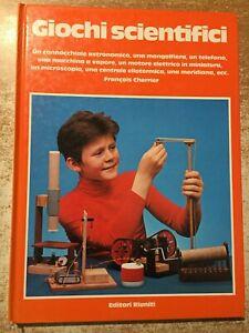 Giochi scientifici cannocchiale telefono Francois Cherrier editori Riuniti 1977