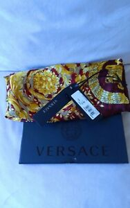Authentic Versace Silk Scarf. With Orginal Box And Tags. Excellent Condition