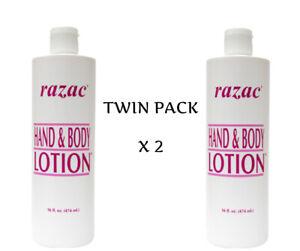 2 X Razac Hand & Body lotion 474ml **TWIN PACK**