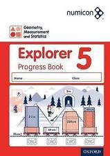 Numicon: Geometry Measurement and Statistics 5 Explorer Progress Book by...