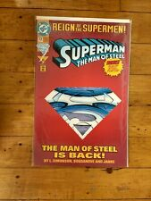 DC Superman The Man Of Steel #22 Reign Of The Supermen!