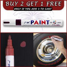 Brown Paint Pen For Car Bike Tyre Tires Art Craft Permanent Paint Marker Pens 🎨
