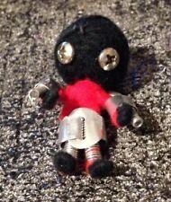 "Vintage Robot Doll - Handmade 2"" - Science Fiction Hardware Steampunk"