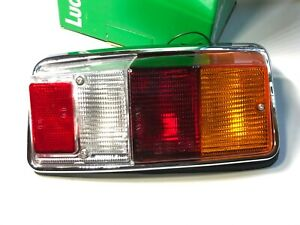 Classic Mini 1976-On New L/H (LHR) Tail Light With White Lens & Gasket - Austin