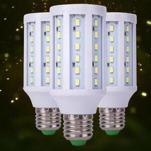 E27 Base Socket Screw LED Corn Light Lamp Bulb Outdoor Camp Home DC12V