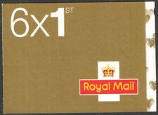 Sa2 / SB5 (15) 4 X 1st Class + 2 X smilers folleto autoadhesiva