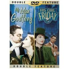 Double Feature - My Man Godfrey / His Girl Friday (DVD, 2002, Full Frame) *NEW*