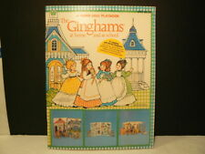 """VTG Paper Dolls, """"A Paper Doll Playbook – The Ginghams"""" 1980, W/1837"""