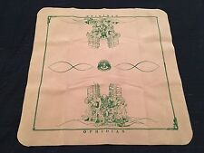 """Ophidian Accessories Ra's Dominion Tan Mat w/ Turquoise Ink PlayMat 26x26"""" NEW"""