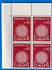 BLOC DE 4 TIMBRES   MONACO  N° 819 EUROPA   NEUF **  MNH BD63