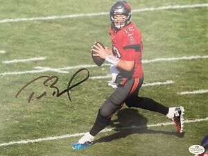 Tom Brady Signed Autographed 8x10 Photo NFL Tampa Bay Buccaneers Super Bowl- COA