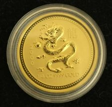 1/4 OZ GOLD Australian Lunar series I - DRAGON (2000)