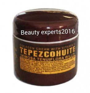 TEPEZCOHUITE CREAM-COLLAGEN & VITAMIN E// CREMA DE TEPEZCOHUITE DEL INDIO PAPAGO