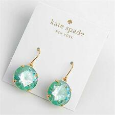 Kate Spade Shine On Faceted Drop Earrings Blue