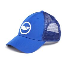 Vineyard Vines Whale Dot Performance Trucker Hat Cap $34 Spinnaker Blue