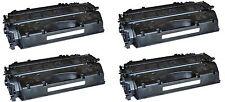 4x Toner Schwarz, kompatibel zu HP CE505A Laserjet P2035  2.300 Seiten