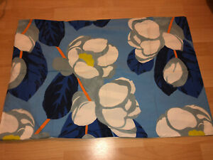 4x Designers Guild Blue Floral Pillow Cases 2xcases 2xoxford