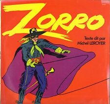 "JEAN CLAUDE PIERRIC / GERARD DOULSSANE ""ZORRO"" B.O. FILM LP"