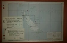 1943 US Army Maps Bougainville and Buka Islands 4 Sheets  AMS X611